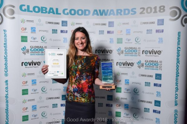 Refill wins Gold at the Global Good awards