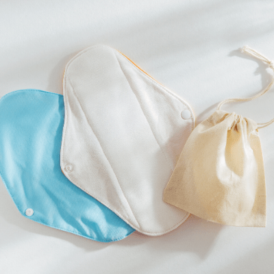 plastic-free period pads
