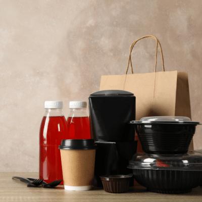 Takeaway packaging options